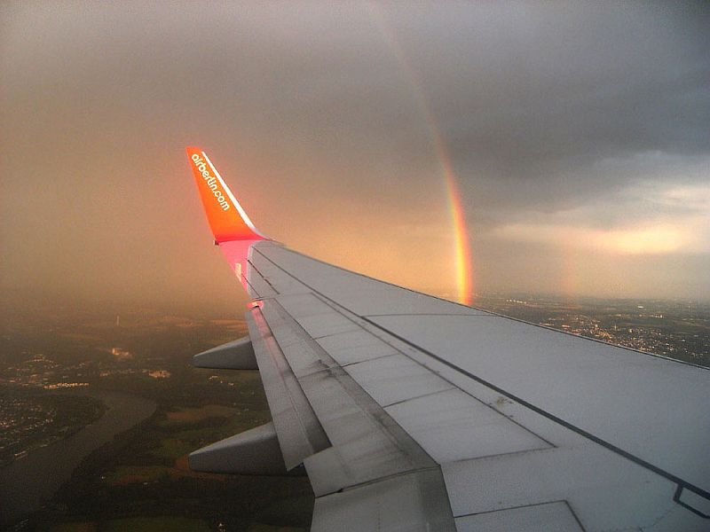 Full Rainbows In The Sky